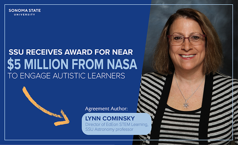 SSU receives award for near $5 million from NASA to engage autistic learners